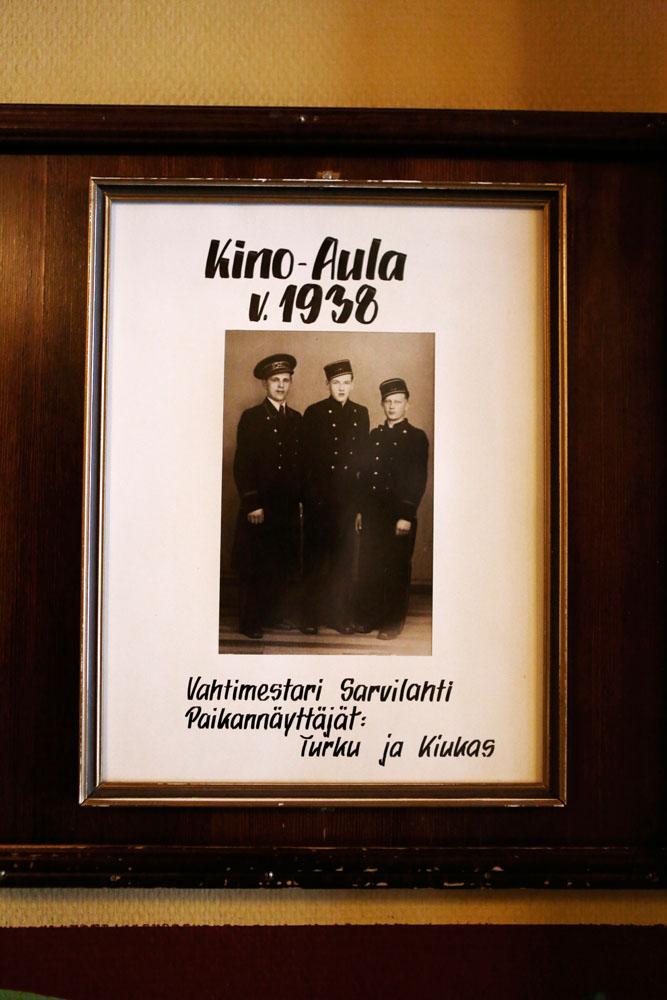 Palvelutiimi vuonna 1938.