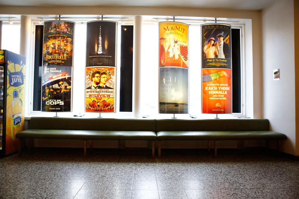 Nuijamiehen aula on näyttänyt kalustukseltaan samalta jo 60 vuoden ajan.